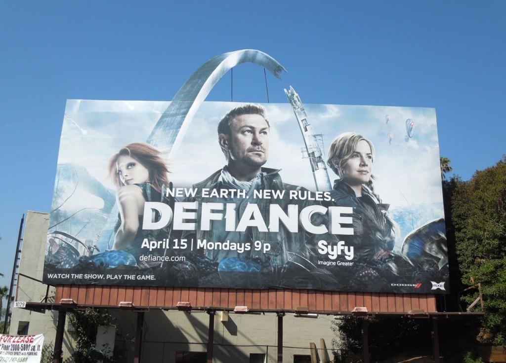 Defiance syfy billboard